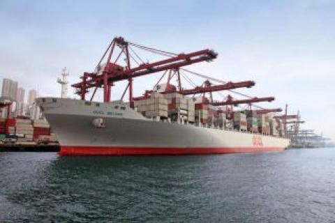 COSCO-OOCL Entity Would Be World's 3rd Largest Carrier